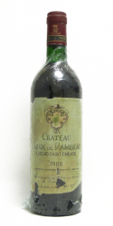 CHATEAU CHANTEGRIVE 1973 GRAVES