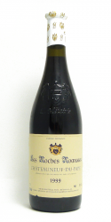 METAIRIE L. CHATEAUNEUF DU PAPE LES ROCHES ROMANES 1999