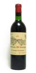 CHATEAU SAINT GEORGES 1971