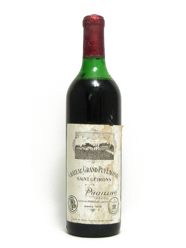 CHATEAU GRAND PUY LACOSTE 1970